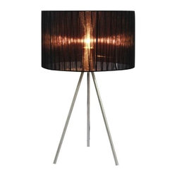 "All the Rages - All the Rages LT2006 Simple Designs 19.69"" Height 1 Light Table Lamp with Drum S - Specifications:"
