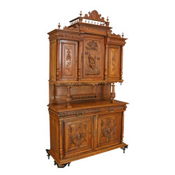 EuroLux Home - Consigned Antique Walnut Romantic French Renaissance - Product Details