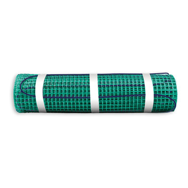 Warmly Yours - WarmlyYours TempZone Floor Warming Mat - TempZone Easy Mats allow for radiant heating of smaller, simpler areas at an affordable cost. Install radiant heating mats in front of your kitchen appliances and bath fixtures for a warm path of under floor heat where you stand the most. Utilizing the TempZone technology, Easy Mats are available in 120 volt systems, with a maximum size per mat of 30 sq.ft. These under floor mats are perfect for providing radiant spot heating for moderately sized bathroom and kitchen floors or just the high traffic cooking areas of larger kitchens.