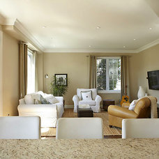 Modern Living Room by K West Images, Interior and Garden Photography