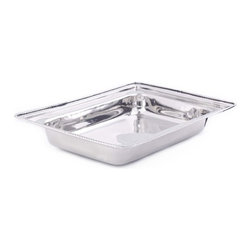 Old Dutch - Rectangular Stainless Steel Food Pan for Model 683 8-Quart - 8-Quart Stainless Steel Rectangular food pan is oven safe to 350F. Repl. For #683 Chafing Dish