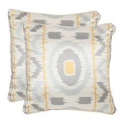 Safavieh - Walton Accent Pillow  - Gold - Walton Accent Pillow  - Gold