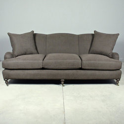 riva sofa - view this item on our website for more information + purchasing availability: http://redinfred.com/shop/category/furnish/sofas-sectionals/riva-sofa/
