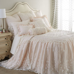 Sweet Dreams Villa Rosa & Queen Anne Lace Bedding -