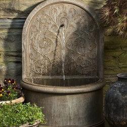 Corsini Wall Fountain - Weight : 291 lbs.