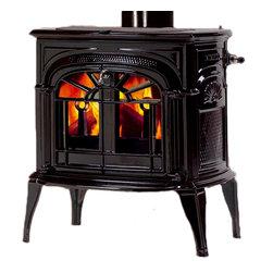 Vermont Castings - Vermont Castings 1990 Intrepid Ii Catalytic Wood Stove - Majestic 0001990--Intrepid II Cat Wood Stove - Classic Black