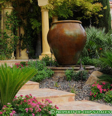 mediterranean landscape by CHIP-N-DALE'S CUSTOM LANDSCAPING