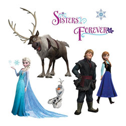 York Wallcoverings - Disney 'Frozen' Wall Stickers - FEATURES:
