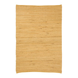 Natural Area Rugs - NaturalAreaRugs Chandra Jute Cotton Rug, Hand Loomed, 5 Ft. X 8 Ft. - Free & Same Day Shipping within Continental USA. International Shipping Available (Contact us for a quote). Made from 70% Natural Jute & 30% Cotton, hand loomed by Artisan rug maker. Jute is naturally durable yet soft. Like any rug, rug pads are recommended as it will prolong the longevity of your jute rug and protect hardwood floor. Do not pull loose fiber, clip and remove the loose ends with scissors. Variations are part of the natural beauty of natural fiber.