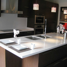 Contemporary Kitchen Countertops by Seifer Kitchen Design Center