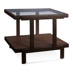 Bassett Mirror - Bassett Mirror Beasley Rectangle End Table - Beasley Rectangle End Table