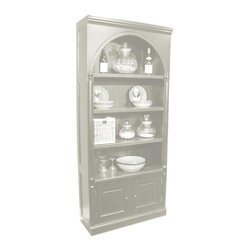 Trade Winds - New Trade Winds Bookcase Red Painted - Product Details