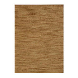 Acura Homes - Hand-woven Abrush Natural Jute Rug (6' x 9') - This Abrush rug features hand-woven jute construction and a 0.5-inch pile. This natural colored rug also features a versatile solid color.