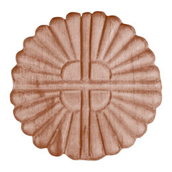 Superior Moulding of Nevada - 3078 Embossed Wood Applique - Decorative wood onlays and appliques, are decorative ornaments useful for bringing visual interest to flat areas. Embossed wood onlays and appliques are often used to decorate fireplace mantels, stove or range hoods and cabinetry headers.
