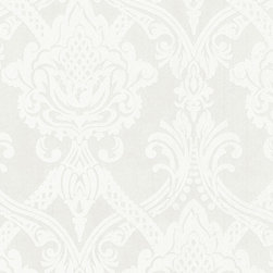 AS Creation - 554932 Black and White Wallpaper, Double Roll - Wallpaper accent wall is a new trend and we at Designers Wallpaper have a solution - modern and stylish non-woven wallpaper from leading European designers for any taste and styles to choose from