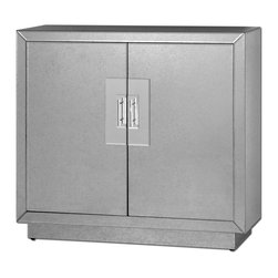 Uttermost - Uttermost 24183 Andover Mirrored Cabinet - Uttermost 24183 Andover Mirrored Cabinet