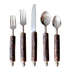 Bark Flatware Set