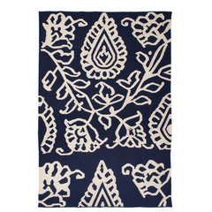 eclectic rugs by Calypso St. Barth