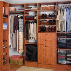 Closet designs for Kraftmaid closet systems