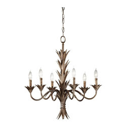Murray Feiss - Stardust Flora 6 Light 1 Tier Chandelier - Lamping Technologies:
