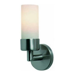 "Decor Walther - Decor Walther Gamma Wall Sconce - The Gamma wall  sconce has been designed and made by Decor Walther. The wall sconce  Gamma by Decor Walther has a simple cylindrical shape. The lamp's  structure is in chromed metall. The bulb is encircled by the cylindrical  opal glass diffuser, which creates a soft, diffused general lighting.    Product Details:  The Gamma wall sconce has been designed and made by Decor Walther. The wall sconce Gamma by Decor Walther has a simple cylindrical shape. The lamp's structure is in chromed metall. The bulb is encircled by the cylindrical opal glass diffuser, which creates a soft, diffused general lighting. Details:                                     Manufacturer:                                      Decor Walther                                                                  Designer:                                     In House Design                                                                  Made in:                                     Germany                                                                  Dimensions:                                      Width: 2.76"" (7 cm)X Depth: 3.15"" (8 cm) X Height: 7.09"" (18 cm)                                                                  Light bulb:                                      1 x E14 Max 60W Halogen                                                                  Material:                                      Metal"