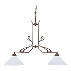 Berlin Brass lamps - Berlin Brass lamps D42-70opA Pendant Light - The D42-70opA pendant light by Berlin Brass Lamps is a work of art.