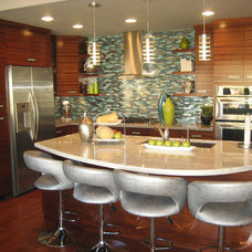 Contemporary Kitchen Cabinets by Frontier Cabinets, Inc.