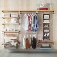 Build Your Own Monorail Closet System | West Elm