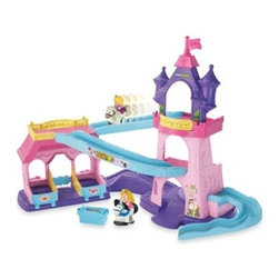 Fisher Price - Fisher-Price Little People Disney Princess Klip Klop Stable - The Little People Disney Princess Klip Klop Stable offers your little girl hours of imaginative playtime with much-loved Disney Princesses, Rapunzel and Aurora, and their trusted horses.
