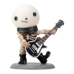 Summit - Lucky The Happy Skeleton Smiling Playing Guitar - Rockband Collectible - This gorgeous Lucky The Happy Skeleton Smiling Playing Guitar - Rockband Collectible has the finest details and highest quality you will find anywhere! Lucky The Happy Skeleton Smiling Playing Guitar - Rockband Collectible is truly remarkable.