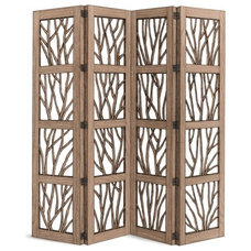 Rustic Screens And Wall Dividers by La Lune Collection