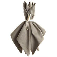 Contemporary Napkins by Calypso St. Barth