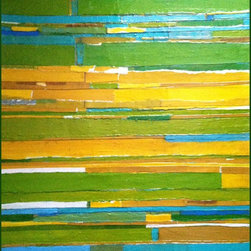 """The Roads We Trod, Original, Painting - """"Abstract Expressionist painting using mixed medium, acrylic and collage."""""""