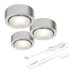 CSL Lighting - CSL Lighting 162-3 Apollo Single Halogen Bulb Under Cabinet Low Voltage Puck Lig - CSL Lighting 162-3 Apollo Single Halogen Bulb Under Cabinet Low Voltage Puck LightThis halogen puck light is perfect for brightening a dim nook or cranny in your home.CSL Lighting 162-3 Features: