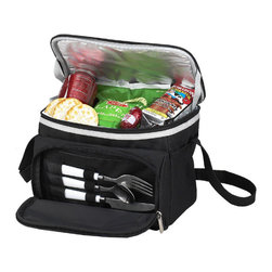 Picnic at Ascot - Bold Lunch Cooler With Accessories - Features::