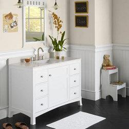 Bathroom Design Ideas - Cape Cod Style Bathroom Vanities: A Few Options To Make The Style Work - HomeThangs.com