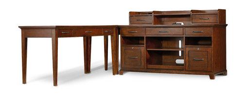 Hooker Furniture - Hooker Furniture Wendover Leg Desk 1037-11458 - Includes Hooker Furniture Wendover Leg Desk 1037-11458 only.