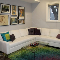 Modern Family Room by REDESIGN4MORE | Toronto's Home Staging  Solution