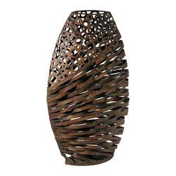 Cyan Design - Cyan Design Lighting - 03019 Alicia Wire Vase - Cyan Design 03019 Alicia Wire Vase