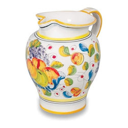 "Ceramic - Miele Pitcher - Miele 8-1/4"" Ceramic Pitcher"