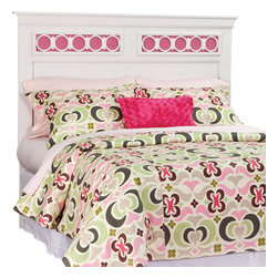 Standard Furniture - Standard Furniture My Room Panel Headboard in White - Full - My Room girls youth collection is sure to be every girls dream bedroom with its functional pieces, feminine style details, and versatile color scheme options.