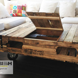 Coffee Table with Storage - oephoto