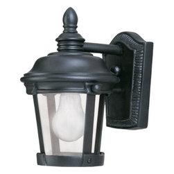 Maxim Lighting - Maxim Lighting 3026CDBZ Dover Cast 1-Light Outdoor Wall Lantern In Bronze - Features