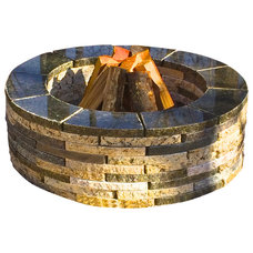 Contemporary Firepits by Realstone Recycling