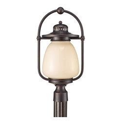 Murray Feiss - Murray Feiss Mc Coy 13W Transitional Outdoor Post Lantern Light X-ZBG8047LPLO - Murray Feiss Mc Coy 13W Transitional Outdoor Post Lantern Light X-ZBG8047LPLO