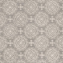 "Loloi Rugs - Loloi Rugs Summerton Collection - Grey / Ivory, 5' x 7'-6"" - Lay a new foundation to your favorite room with a hand-crafted rug from the Summerton Collection. Hand-hooked in China of 100% polyester, these spirited rugs earn notice through clean design and quality craftsmanship. And whether you're relaxing after a long day or just enjoying a lazy Sunday, the perfectly plush feel is a real treat for your feet. With shapes available in rectangles, small rounds, hearths, and runners, Summerton has a rug - or two - for any room."