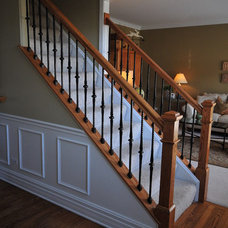by Jusalda custom stairs Inc,