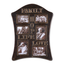 "13588 Family Values, Photo Collage by Uttermost - Get 10% discount on your first order. Coupon code: ""houzz"". Order today."