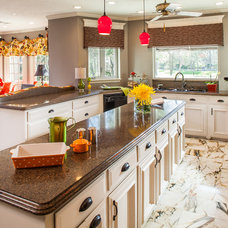Traditional Kitchen by Cindy Aplanalp-Yates & Chairma Design Group