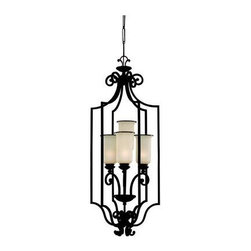Sea Gull Lighting - Hall Fixture - This Open Frame Foyer Hall Fixture has a Bronze Finish and is part of the Acadia Collection.
